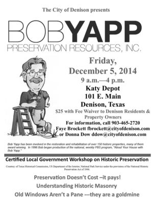 HP Workshop Bob Yapp